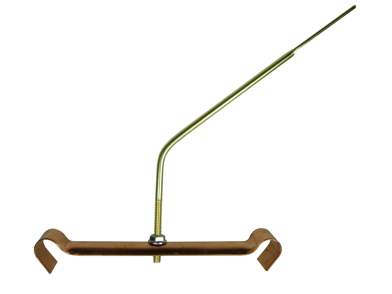 Half Round Hangers Copper Stainless Steel Gutter Supply