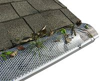 Gutter Protection Half Round Hinged Gutter Screen