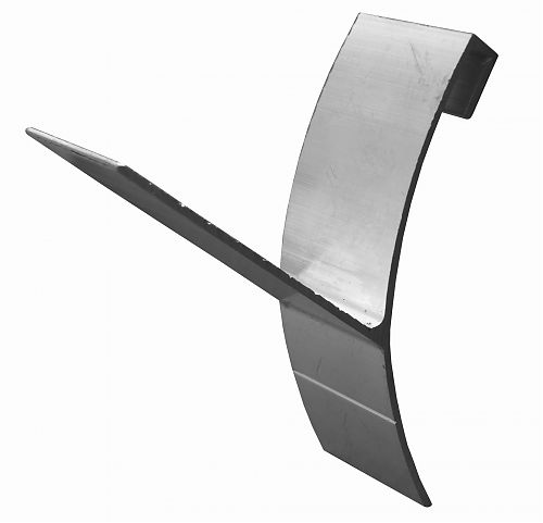 Half Round T Gutter Wedge - Gutter Wedges