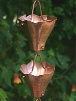 Star Flower Cups Rain Chain