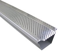 Gutter Guard - Mill Finish Aluminum