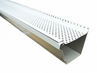 Gutter Guard - White Aluminum
