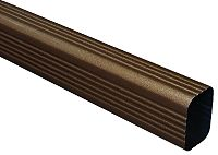 Designer Copper Rectangular Downspout