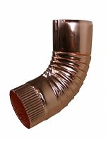 Plain Round Copper Elbow