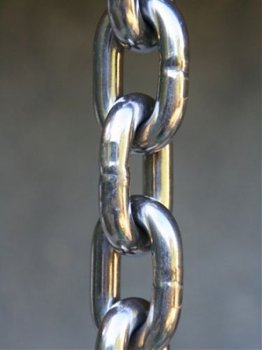 Stainless Steel Link Rain Chain