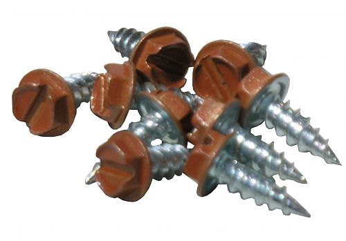 Copper Penny Zip Screws