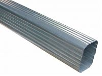 Galvanized Rectangular Downspout