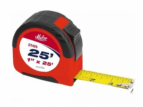 1 inch x 25 ft. Tape Measure - Malco