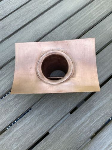 Half Round Installation Kit - Copper