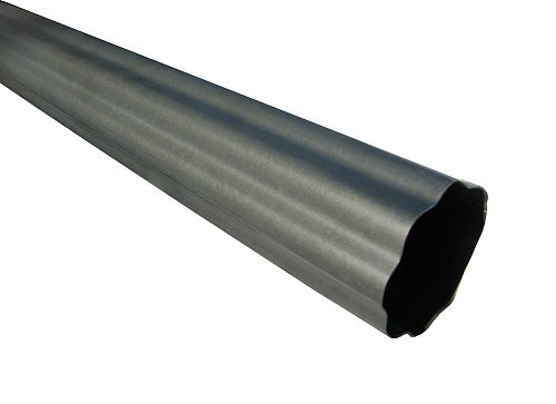 Rnd Corrugated Paint Grip Steel Downspout