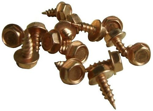 Copper Stainless Steel Zip Screws