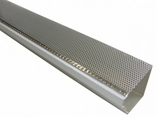 K Style Drop-In Gutter Screens - Aluminum