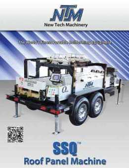 Exceptional SSQ Roof Panel Machine Brochure. Click Here To View Brochure