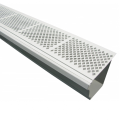 Vinyl / PVC Gutter Leaf Guards