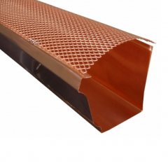 K Style Hinged Gutter Screen