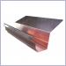Copper K Style Highback Rain Gutter,Rain Gutter Supplies