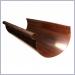 Half Round Copper Rain Gutters,half round gutters, half round copper gutters, copper rain gutters, G