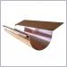 Copper Half Round Highback Rain Gutter, Half Round Gutters,Rain Gutter Supplies