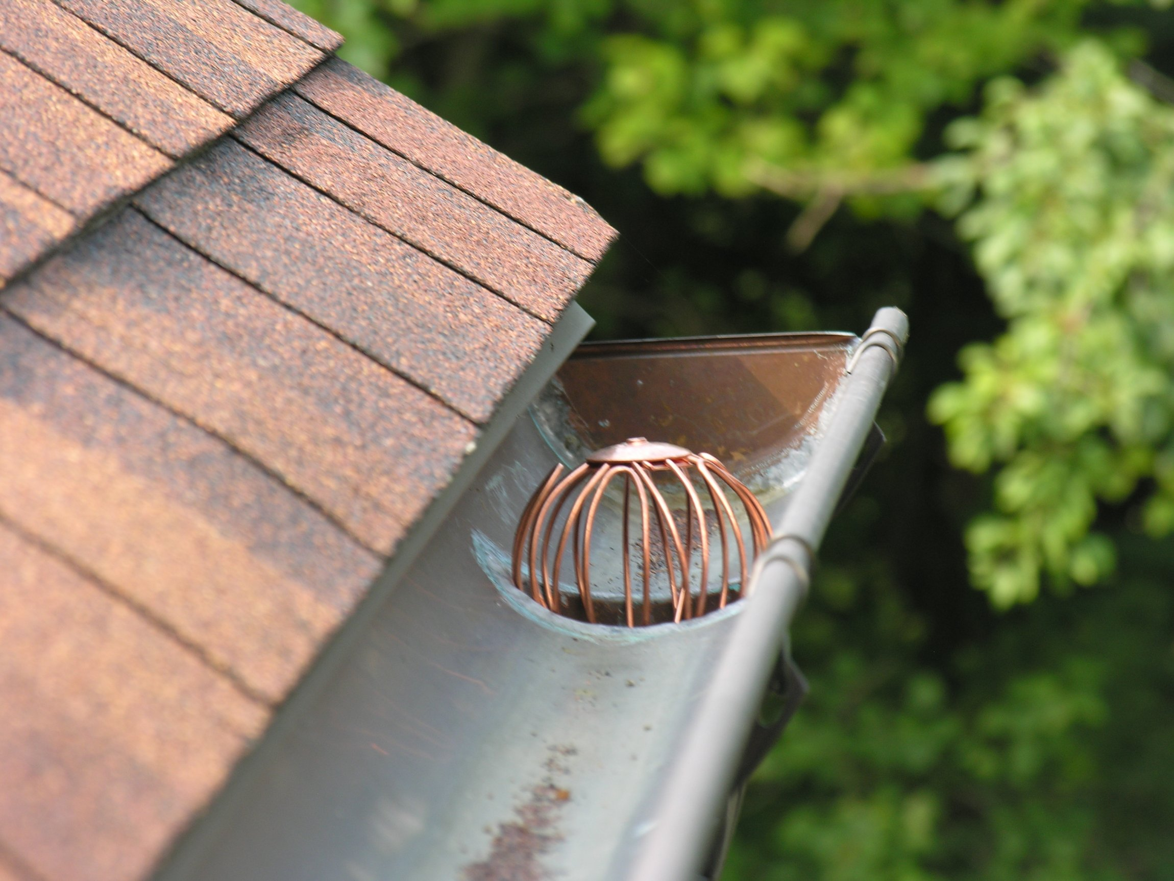 Click For A Larger View Copper Wire Strainer In Action