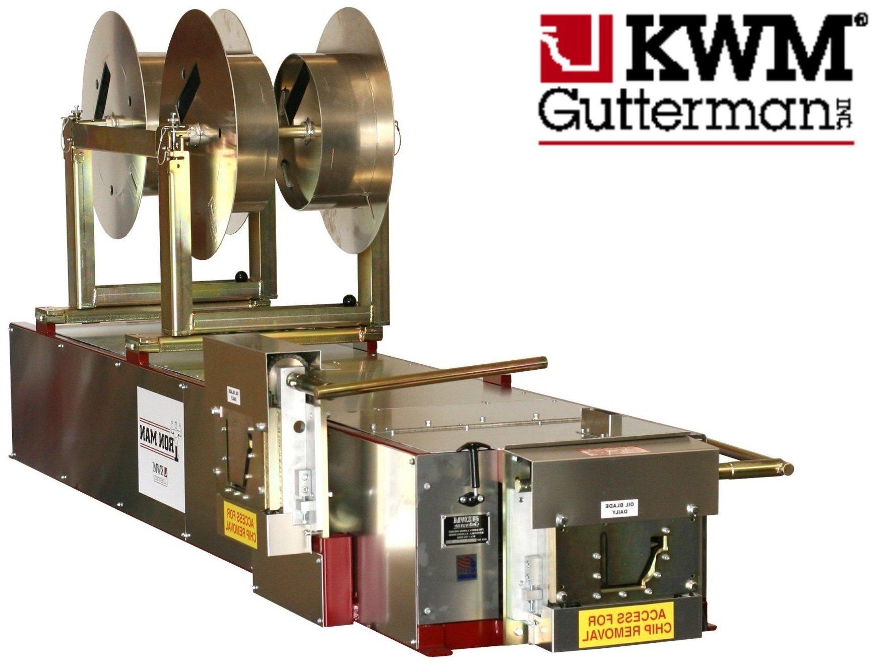 Click For A Larger View 5 6k Ironman Gutter Machine