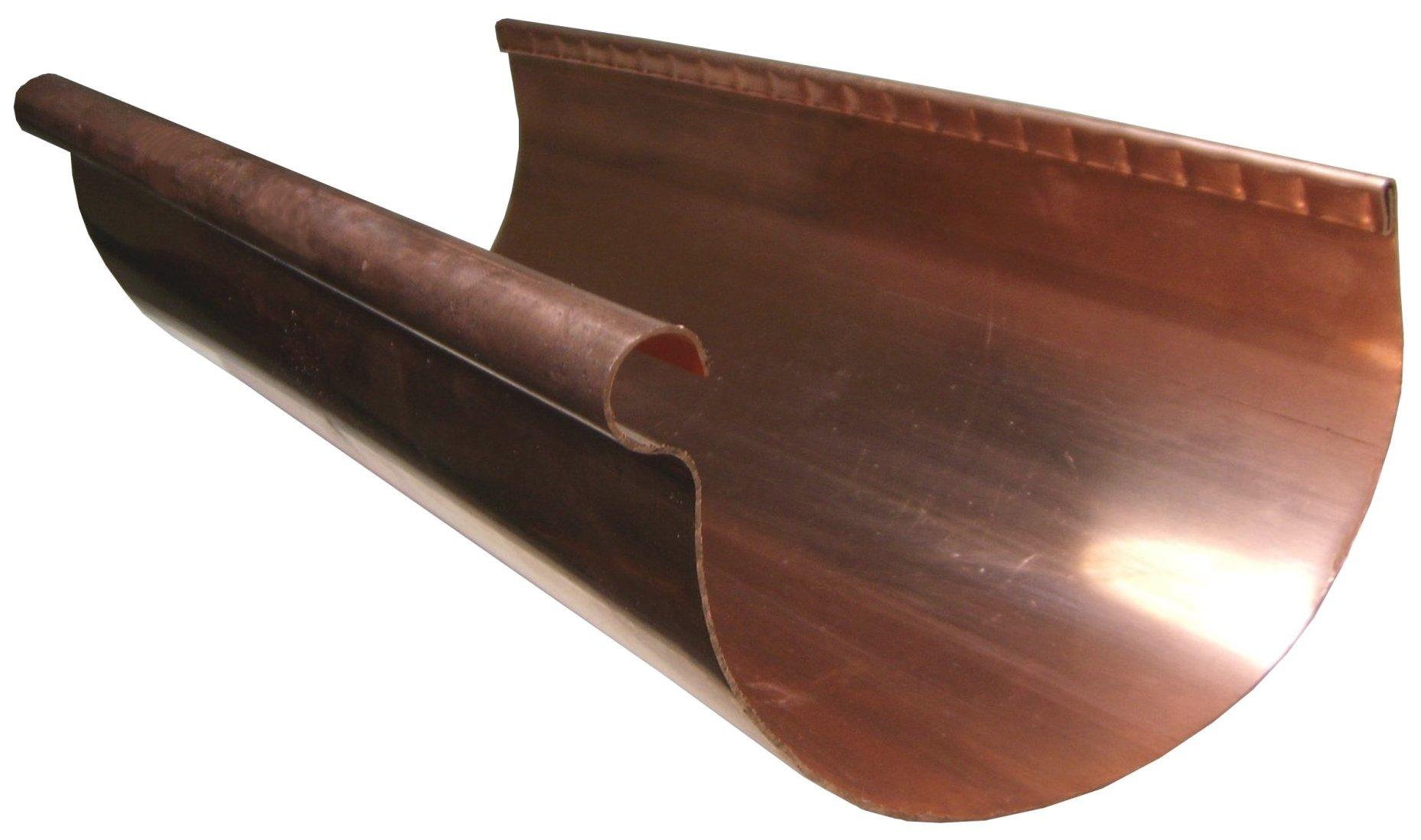 Half Round Rain Gutters Amp Products Gutter Supply