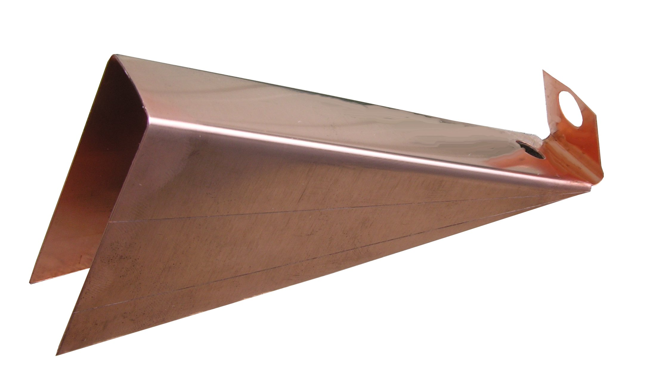Click For A Larger View K Style Gutter Wedge Copper Gutter
