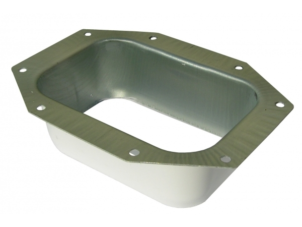 Click For A Larger View K Style Rectangular Outlet Wide Flange