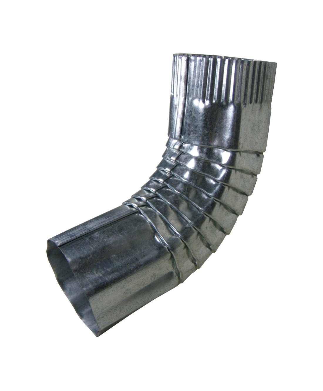 Click For A Larger View Galvanized Round Corrugated Elbow