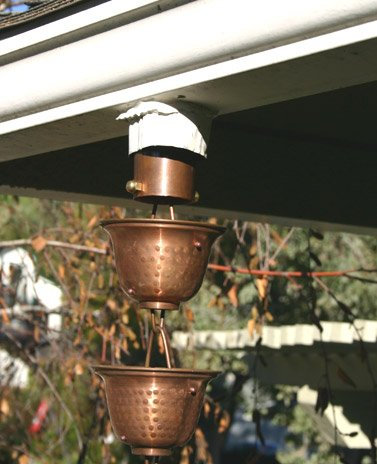 Click For A Larger View Installation Kit With Rainchain Gutter
