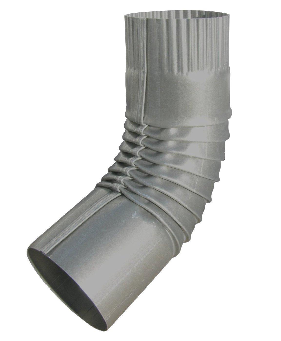 Plain Round Paint Grip Steel Elbow