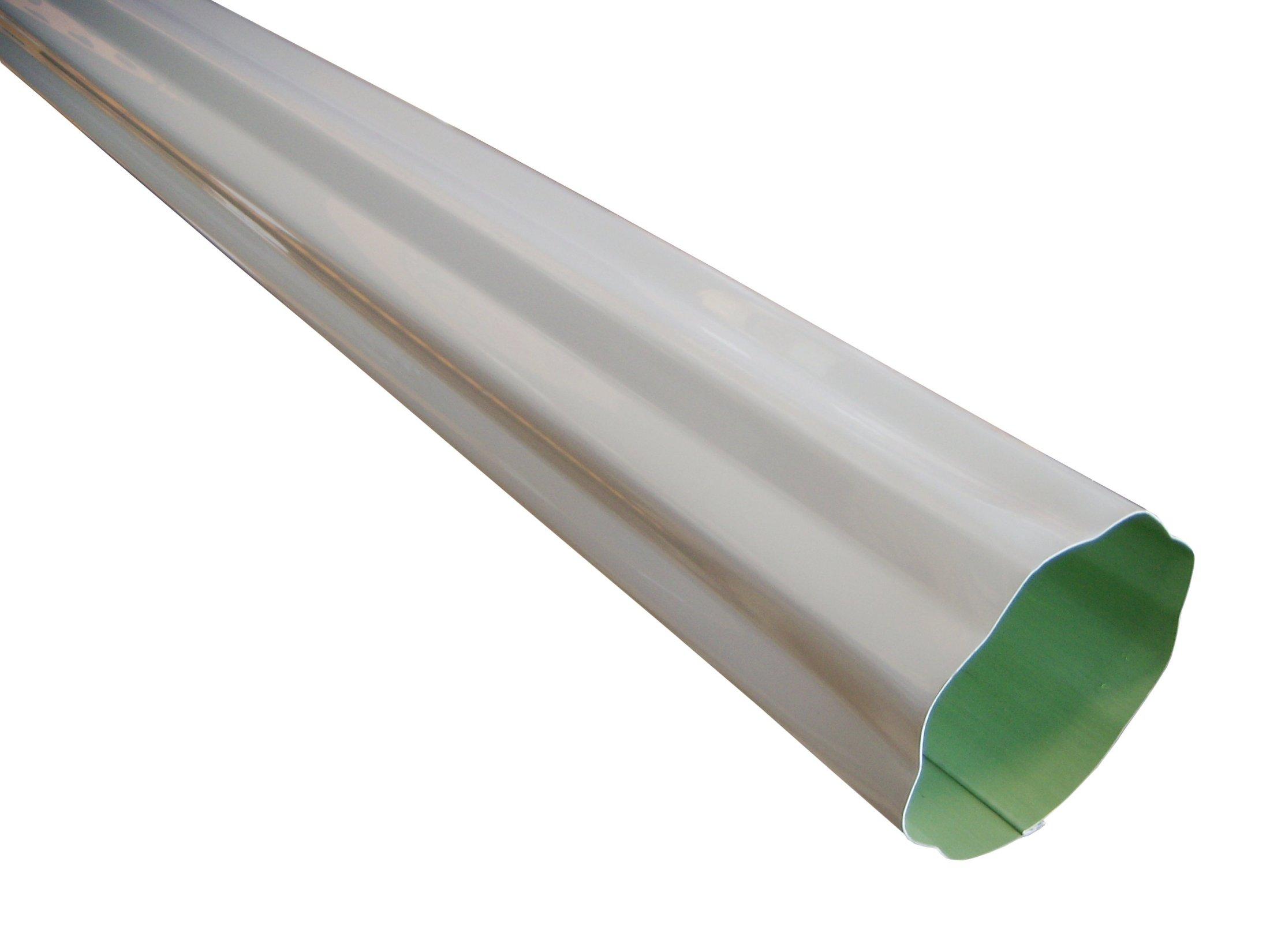 Corrugated Aluminum Downspout