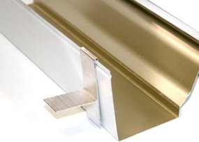 Universal T Wedge Attached To Gutter - Gutter Wedges