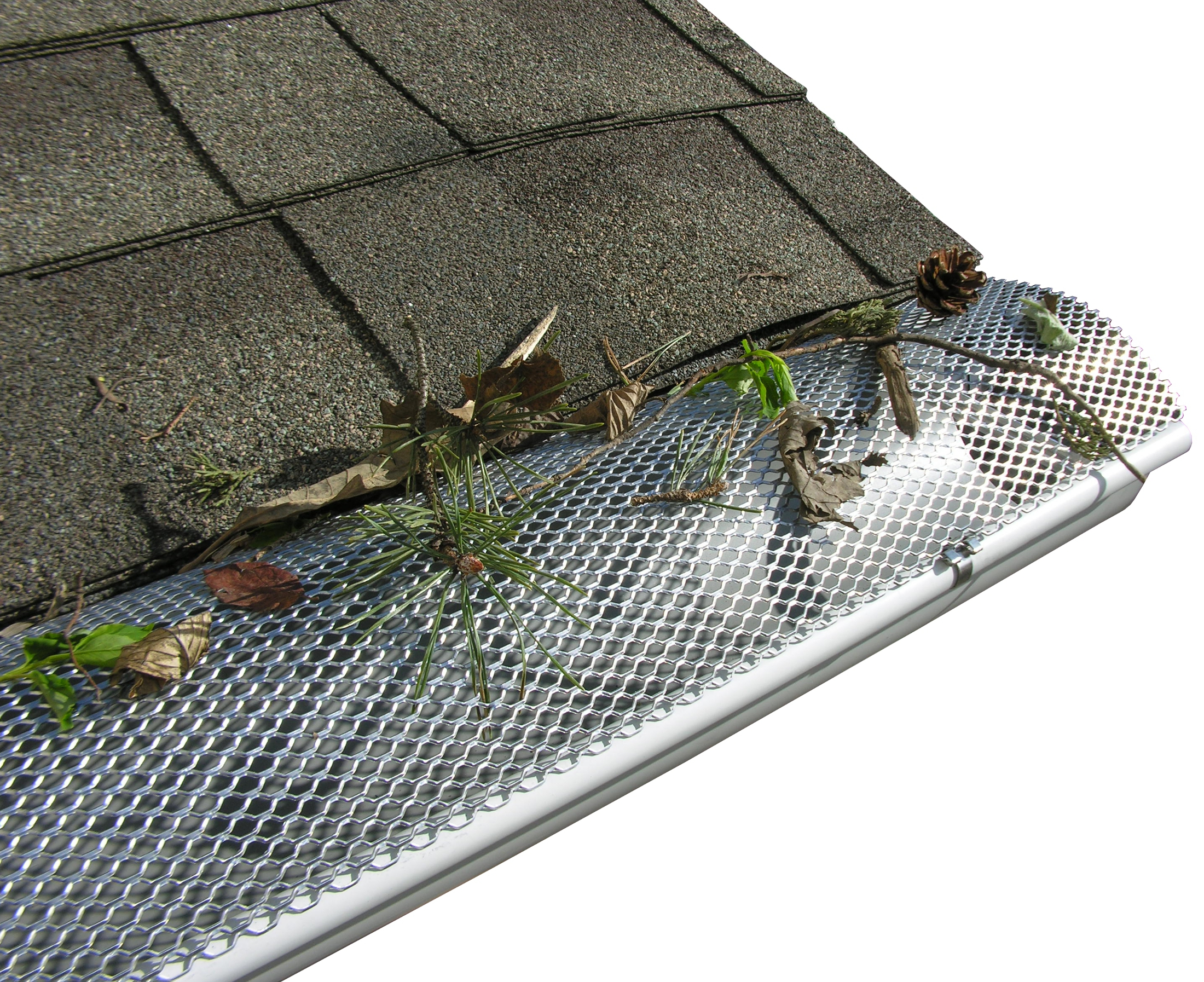Click For A Larger View Hr Hinged Gutter Screens Aluminum