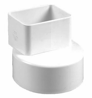 Click For A Larger View 2x3x4 Offset Downspout Adapter