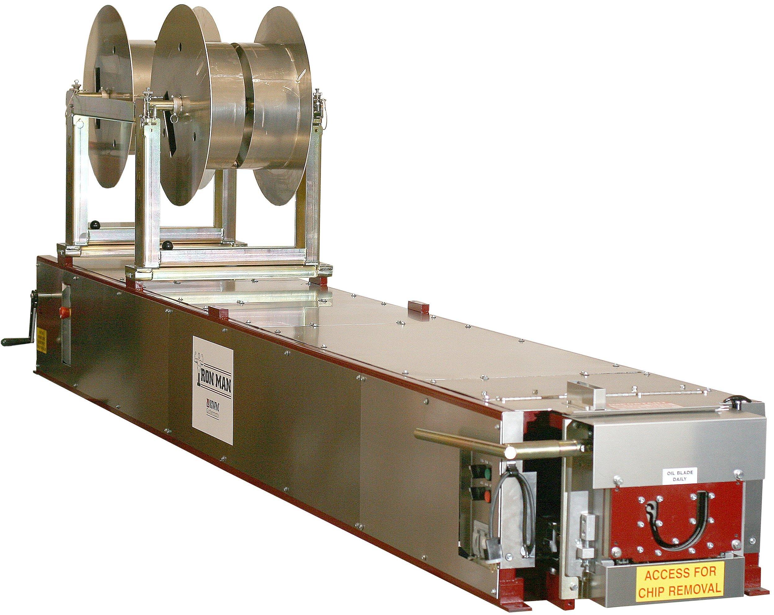 6 Half Round Gutter Machine