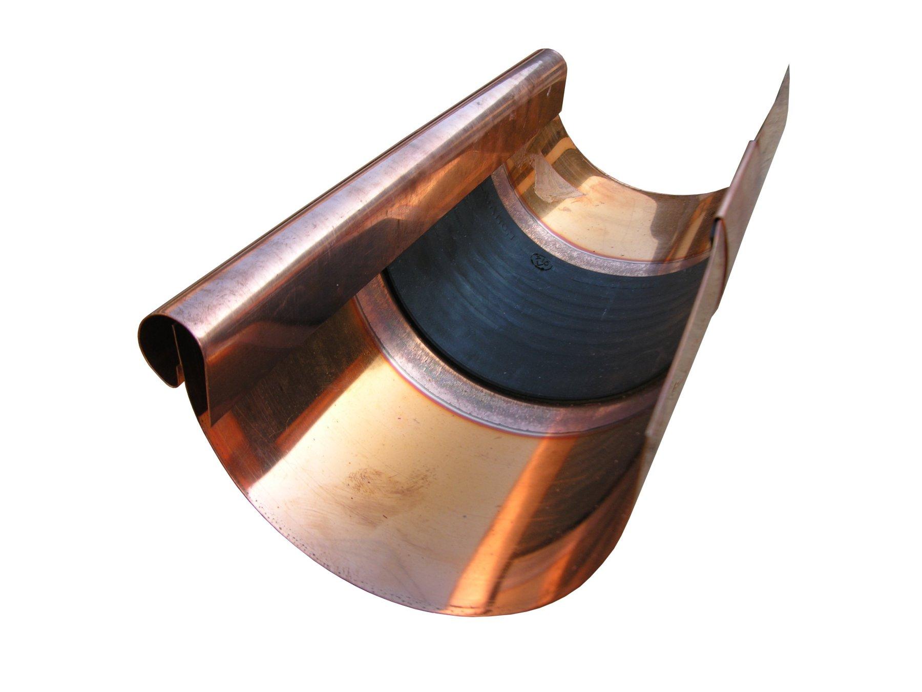 Euro Copper Gutter Expansion Joints
