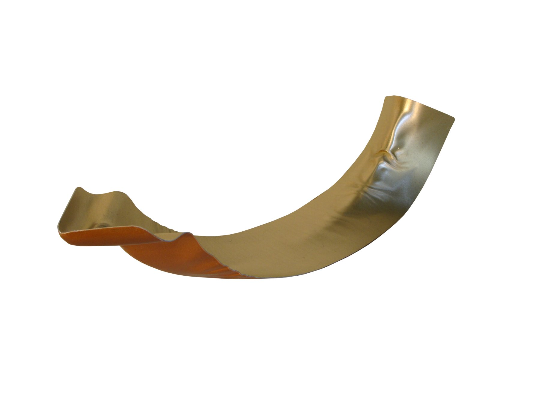 Copper Penny Miters Or Corner Pieces Are The Gutter