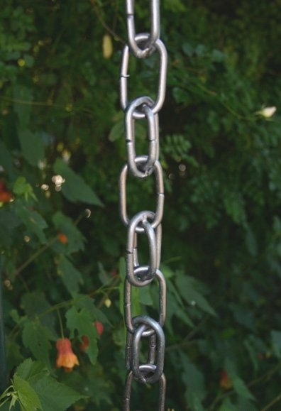 Aluminum Rain Chains Have The Advantage Of Being