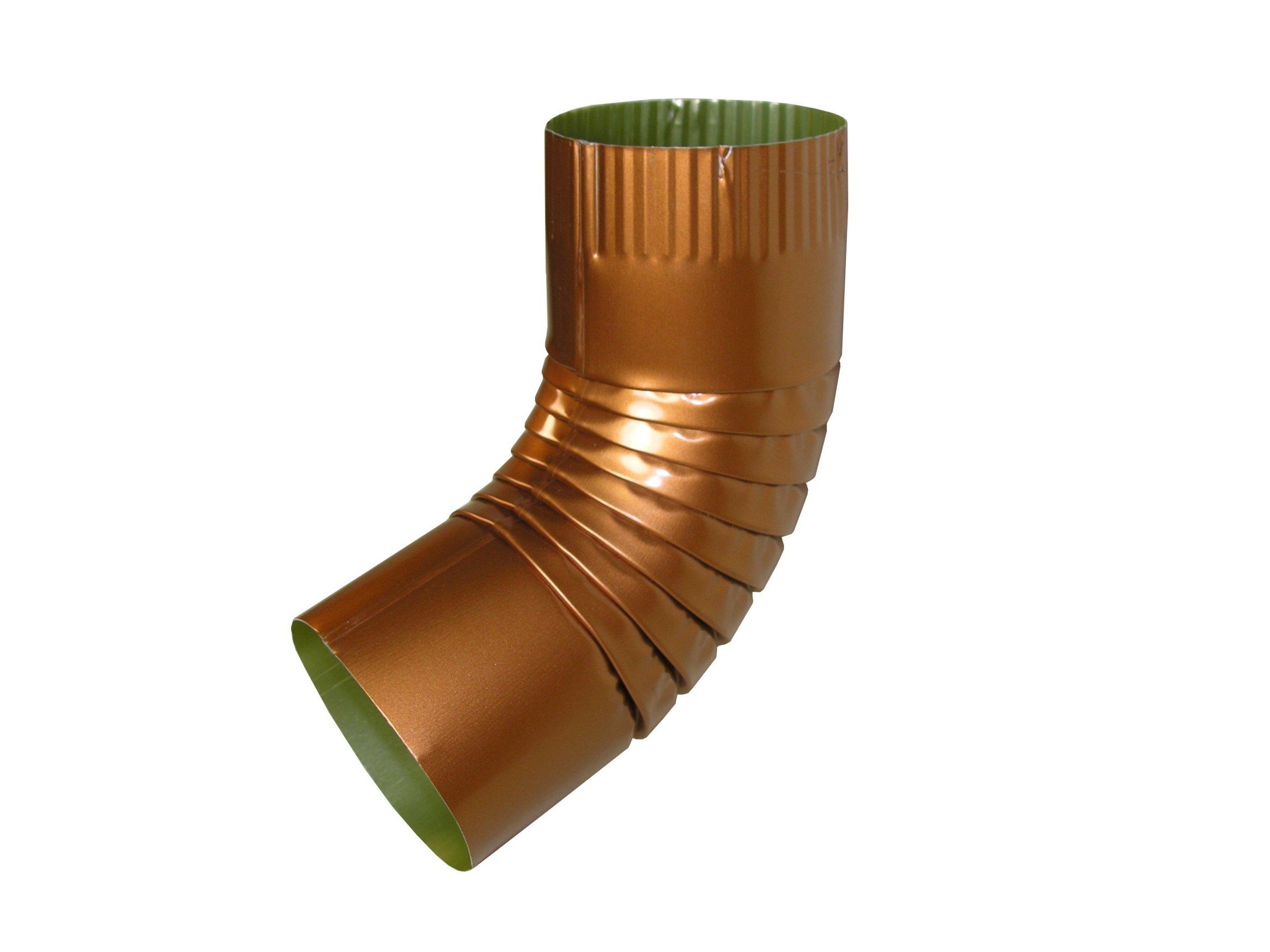 K Style Copper Gutter