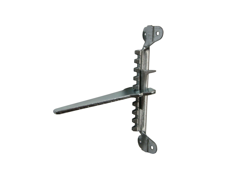 Galvanized Rack & Key - #0 Drive