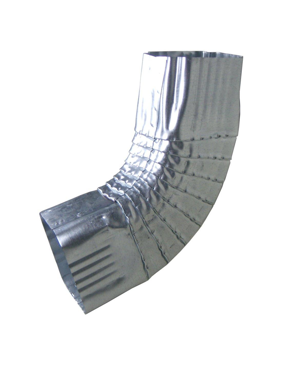 Galvanized Rectangular B Elbow
