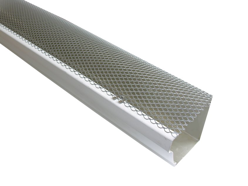 K Style Hinged Gutter Screens