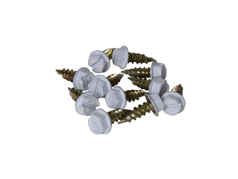 Aluminum Zip Screws