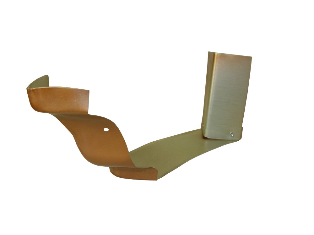 Copper Penny Strip Miters Are What Hold Two Conjoining