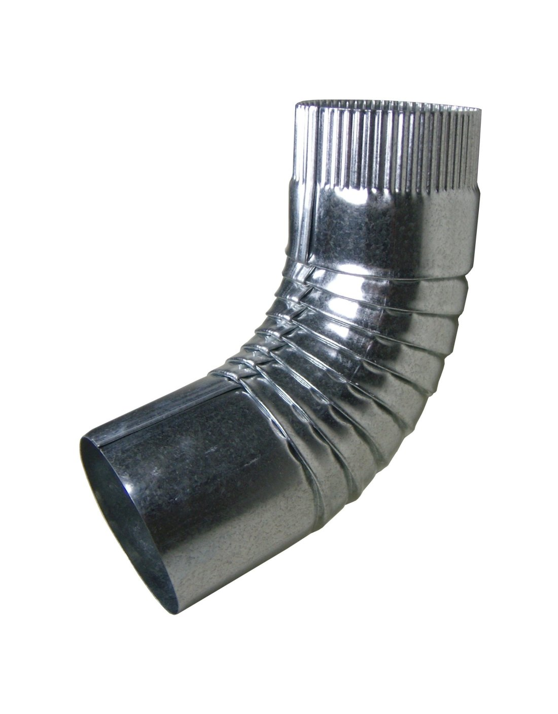 Our Round Galvanized Elbows Are Available In Both Plain