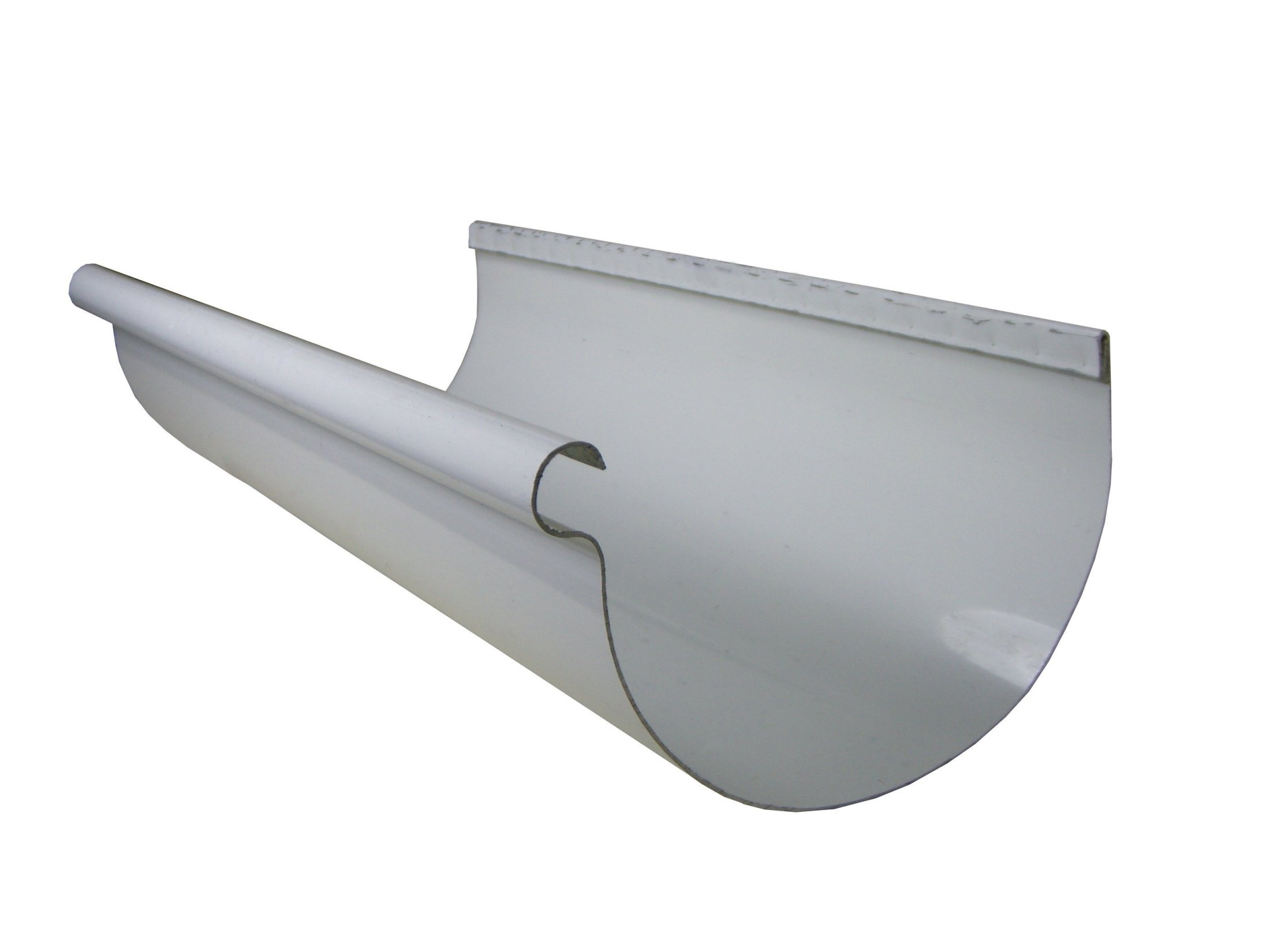 Half Round Aluminum Gutters Amp Products Gutter Supply
