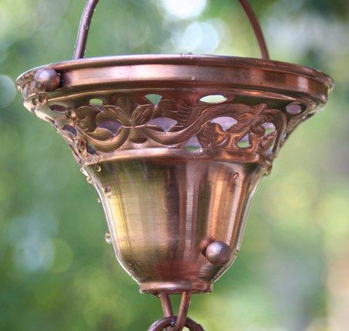 Florence Cups Rain Chain