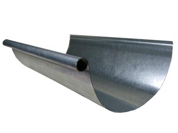 5 Half Round Single Bead Galvanized Material List