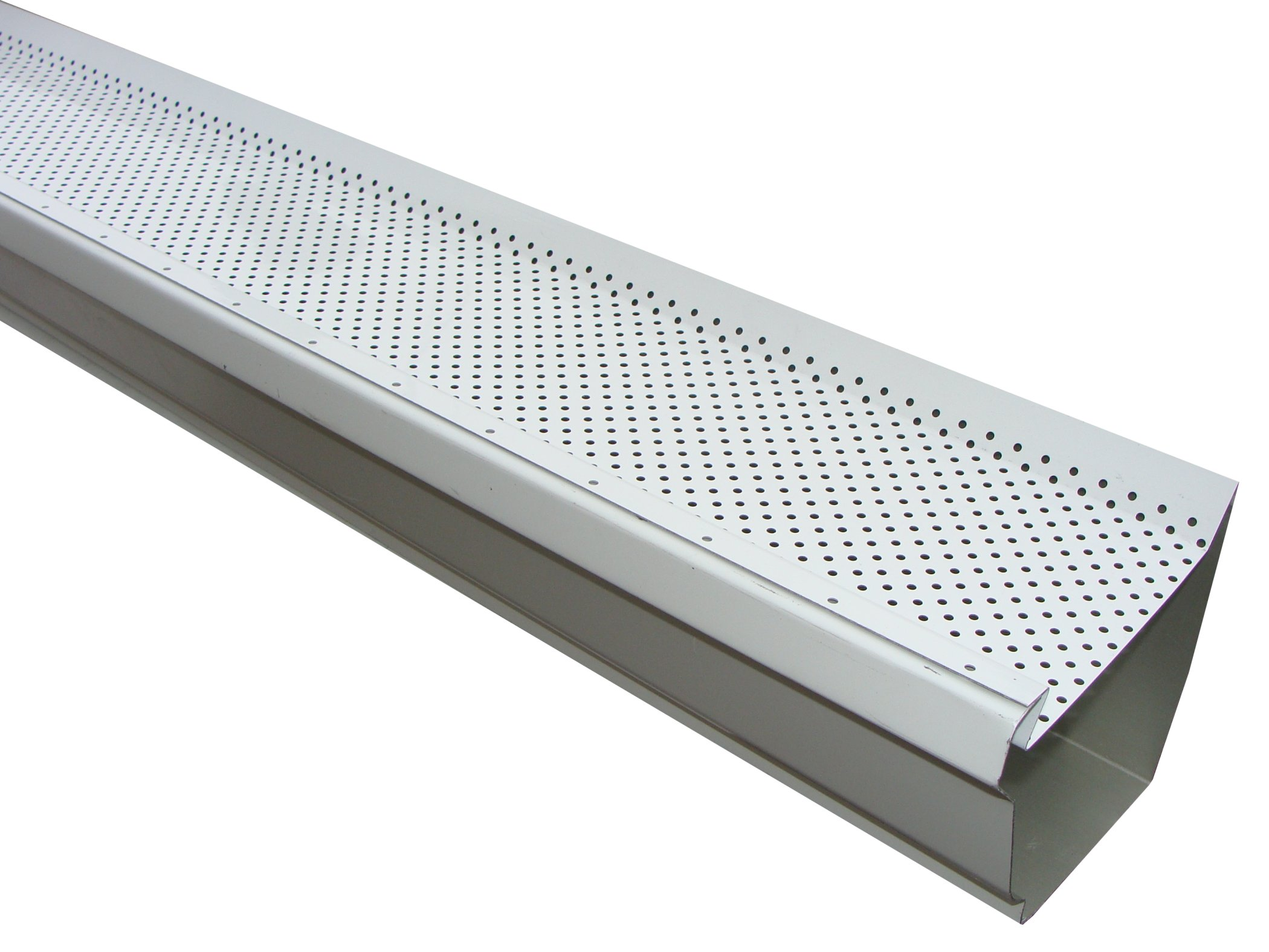 Leaf Defender Gutter Guard Keeps A Low Profile So It