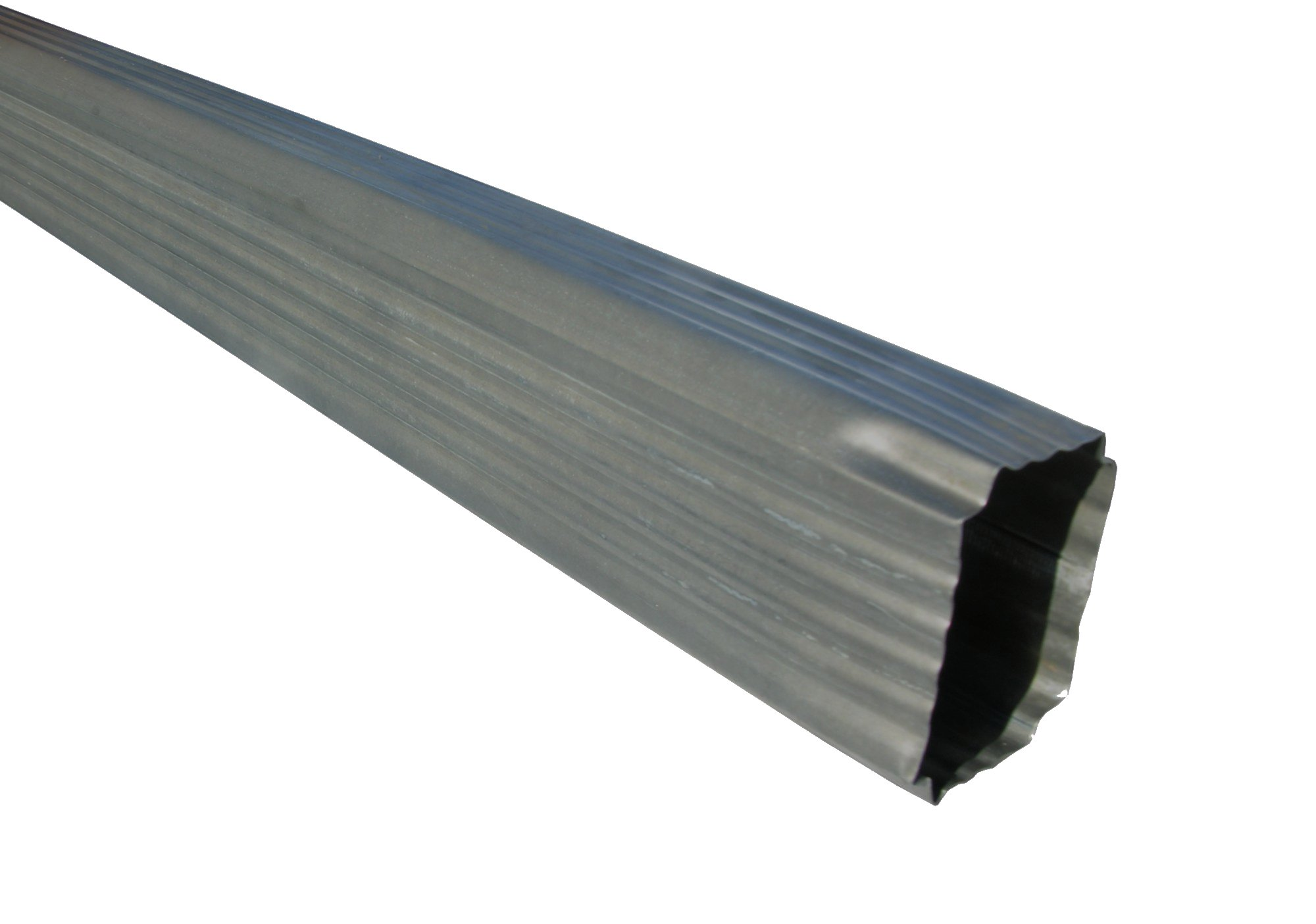 We Carry An Assortment Of Paint Grip Steel Downspouts In